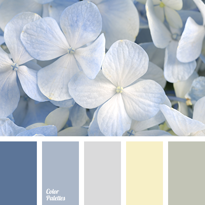 Pale light blue color palette ideas - Yellow and blue paint scheme ...