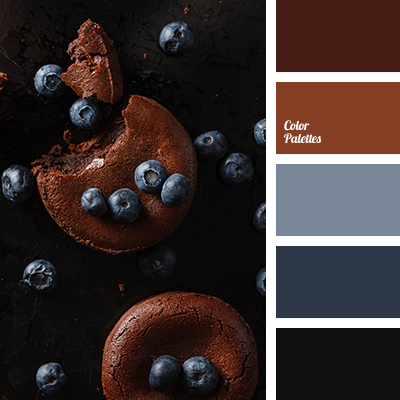 black and brown | color palette ideas