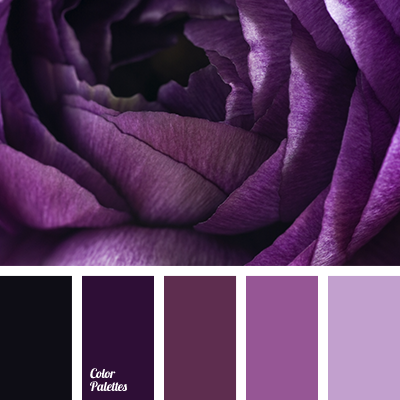 Dark purple and lilac color palette ideas for Purple mauve color