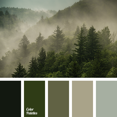 Gray Green Color Palette Ideas