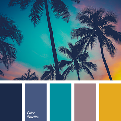 Midnight Blue Color Palette Ideas