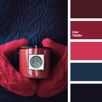 Dark blue color palette ideas - Red black color combination ...