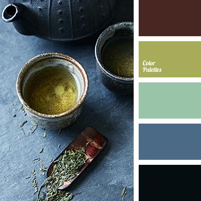 green tea color