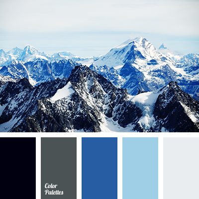 Mountain Blue Paint Color