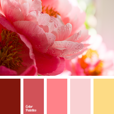 Crimson color color palette ideas - Which color matches with pink ...