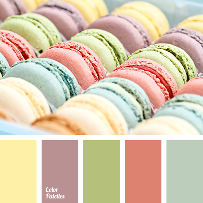 color of maroon macaroons | Color Palette Ideas