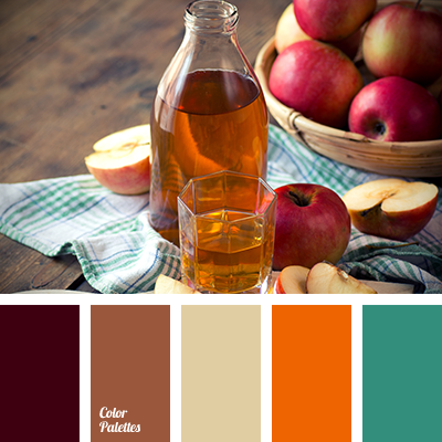 brown color