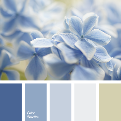 pale blue color