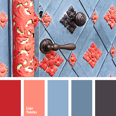 scarlet color