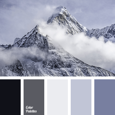 color of mountains