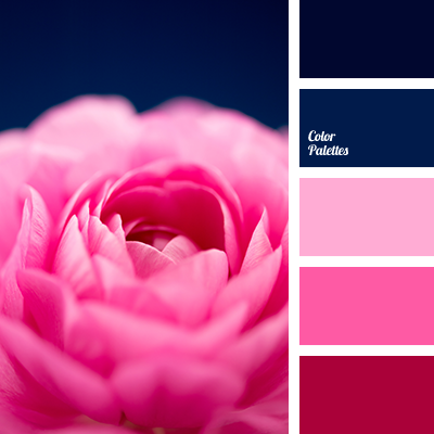pink and blue colors