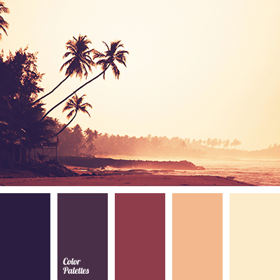 colors of sunset