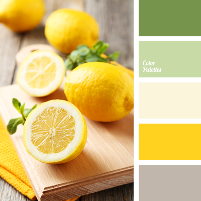 shades of yellow | color palette ideas