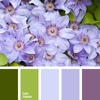 Color combination for early spring