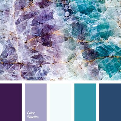 Delicate purple color