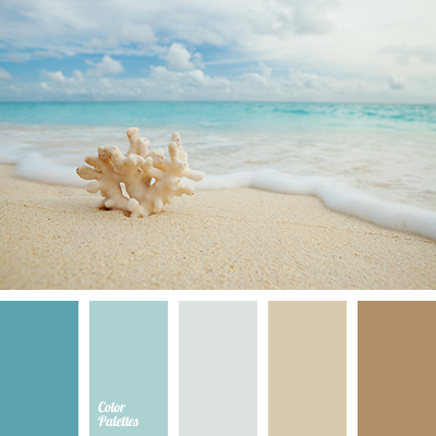 Color of the morning sea