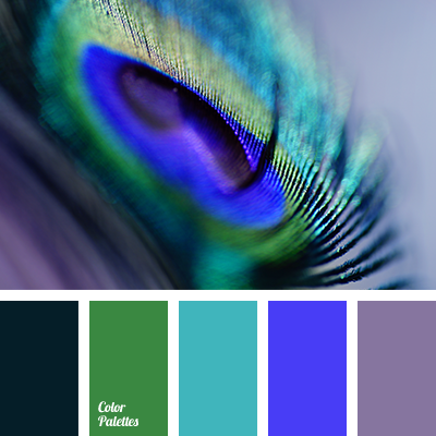 Color Palette 3563 Blue And Green