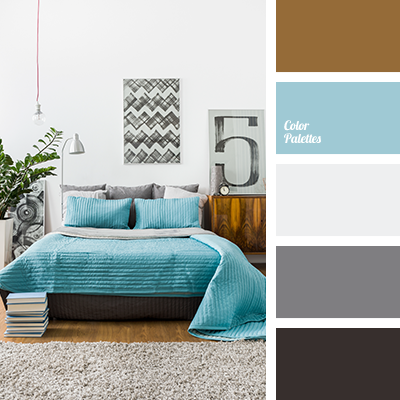 blue and brown   Color Palette Ideas