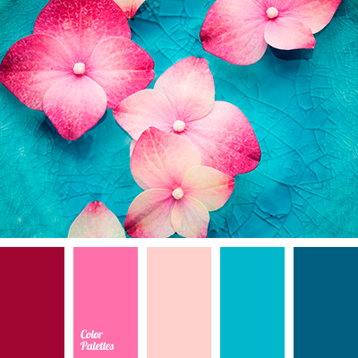 pink and blue | Color Palette Ideas