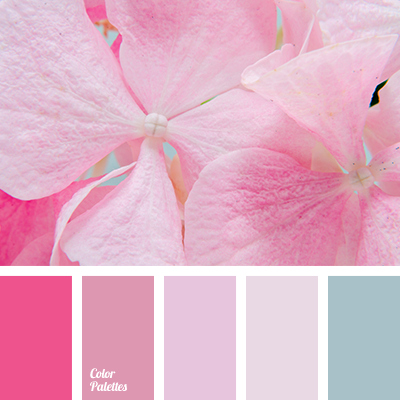 Pastel Pink Color Palette Ideas