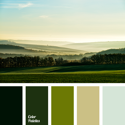Shades Of Green Color Palette Ideas