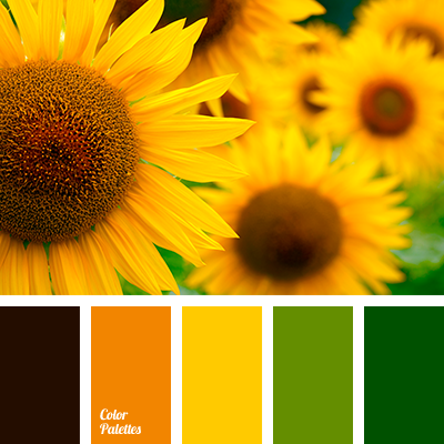amber color palette ideas