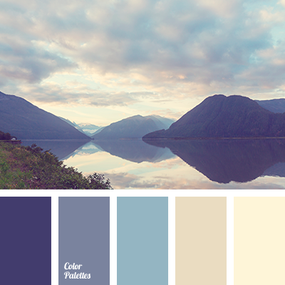Shades Of Lilac Blue