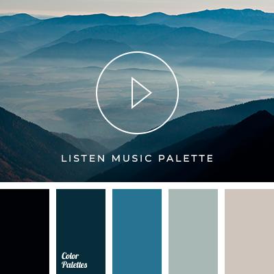 Inspiration music palette #3848 | Color Palette Ideas
