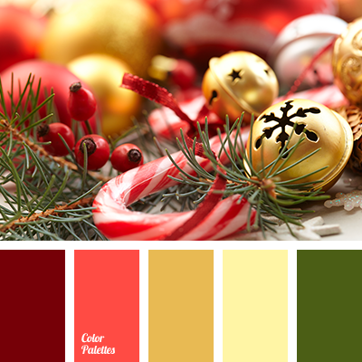 Christmas Colors Palette.New Year Colors Color Palette Ideas