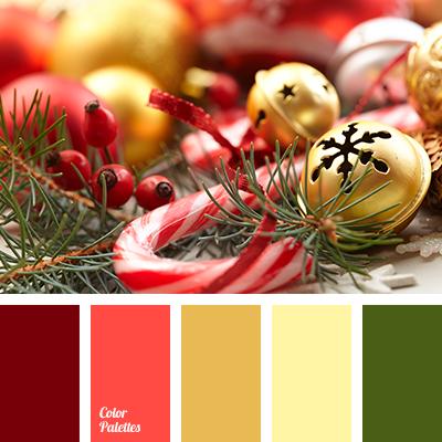 Christmas Picture Color Schemes.New Year Colors Color Palette Ideas