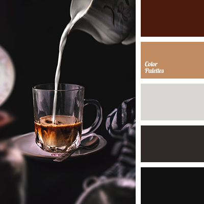 Milk coffee color