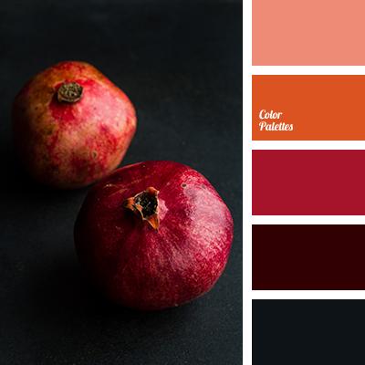 Garnet color