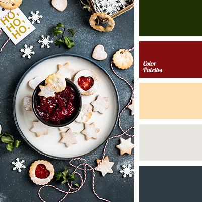 Christmas palette