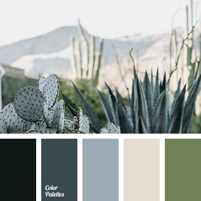 Shades of gray-green