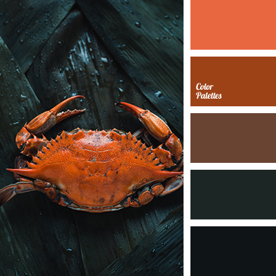 Boiled crab color