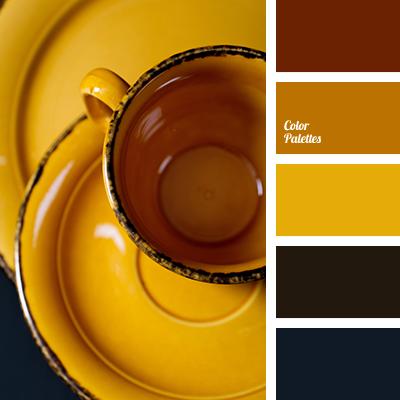 Mustard-yellow color