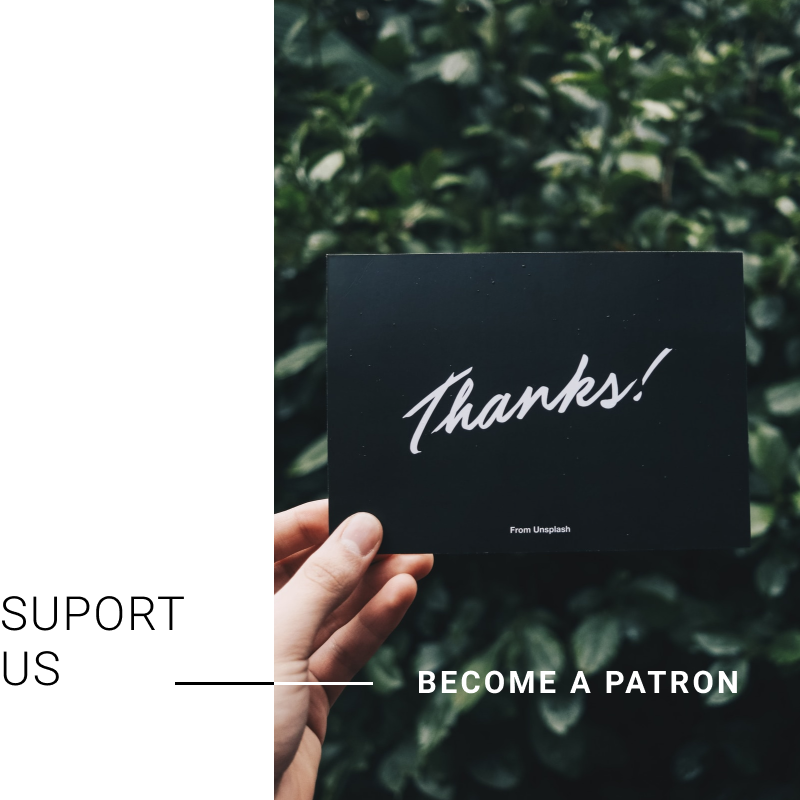 Support Us — Become a Patron