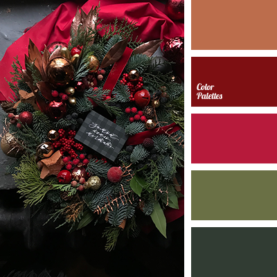 Christmas palette