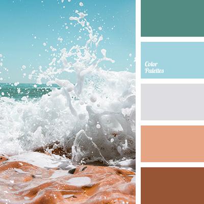 Sea foam color