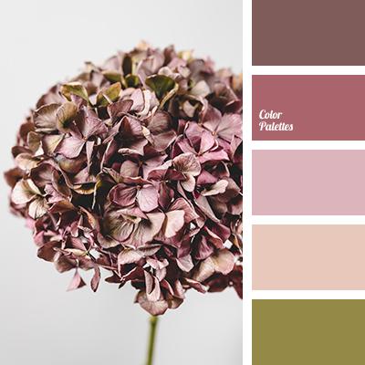 Beige-lilac color