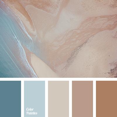 Pastel shades of beige
